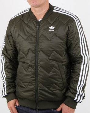 Adidas Originals Sst Quilted Jacket Night Cargo
