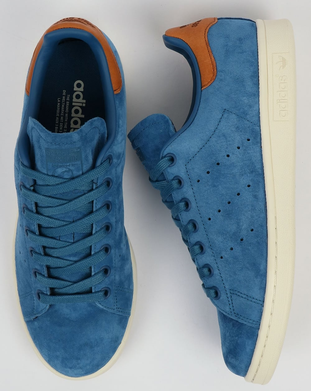 Adidas Originals Stan Smith Trainers Core Blue 8bcfd14c197b