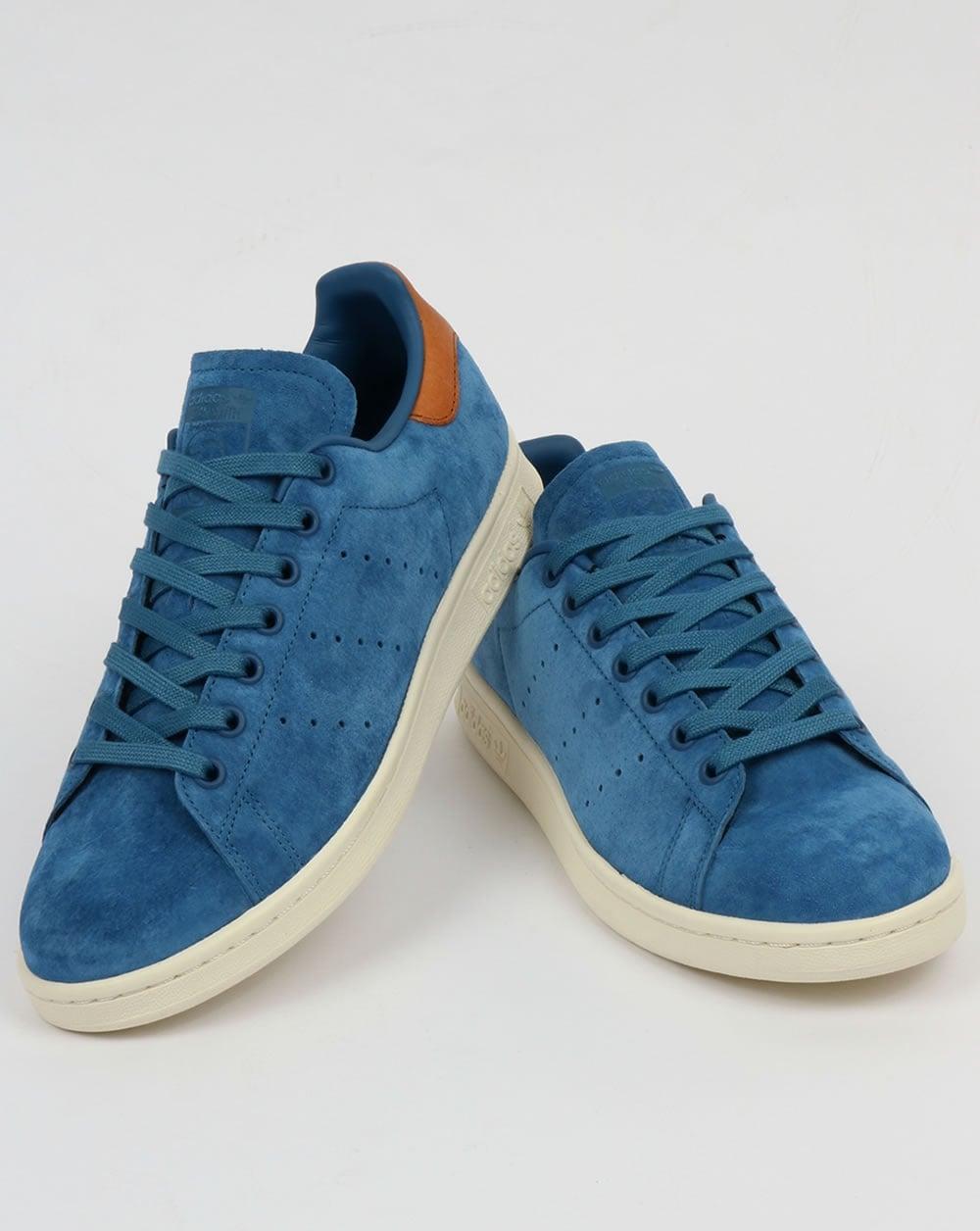 the best attitude 133b6 374d8 Adidas Originals Stan Smith Trainers Core Blue