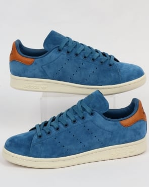 adidas Trainers Adidas Originals Stan Smith Trainers Core Blue
