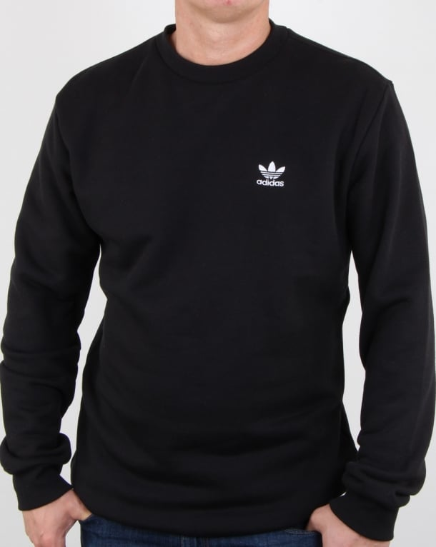 Adidas Originals Standard Crew Sweat Black