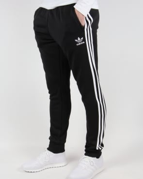Adidas Originals Superstar Cuffed Track Bottoms Black/White