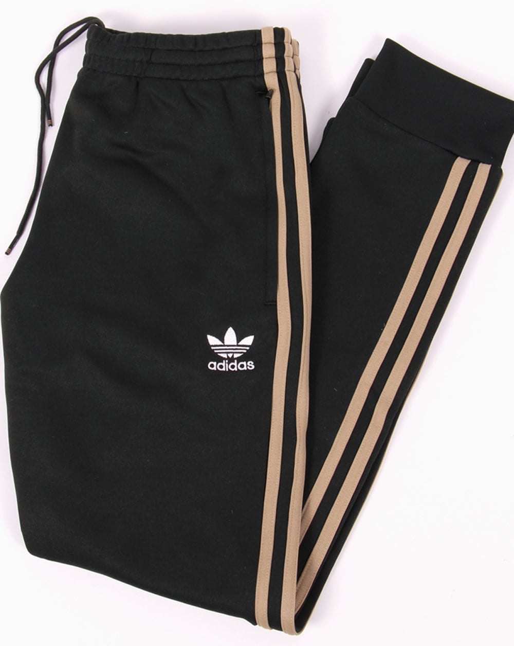 f03f9293fd7c adidas Originals Adidas Originals Superstar Cuffed Track Bottoms Jungle Ink