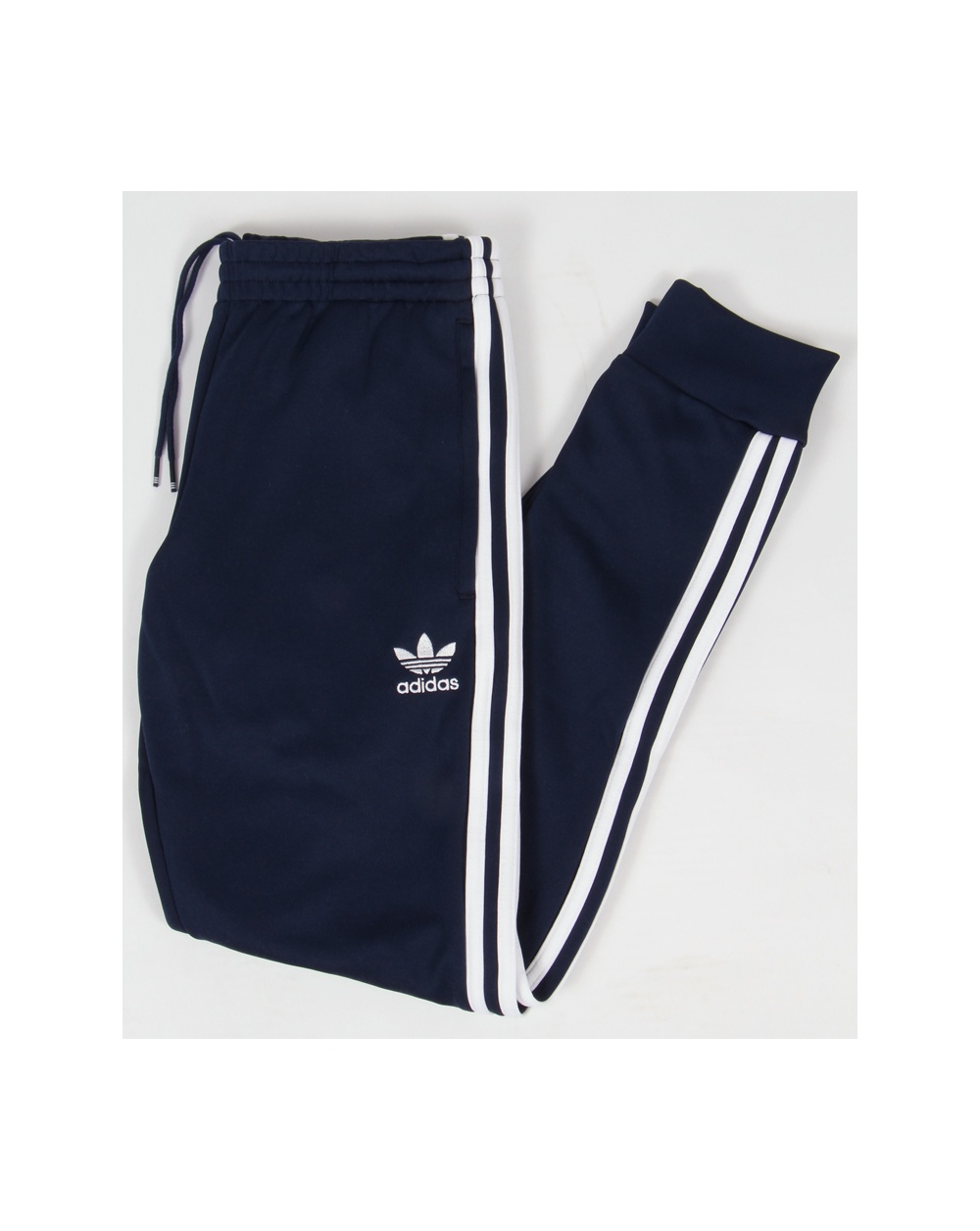 adidas originals superstar cuffed track pants black