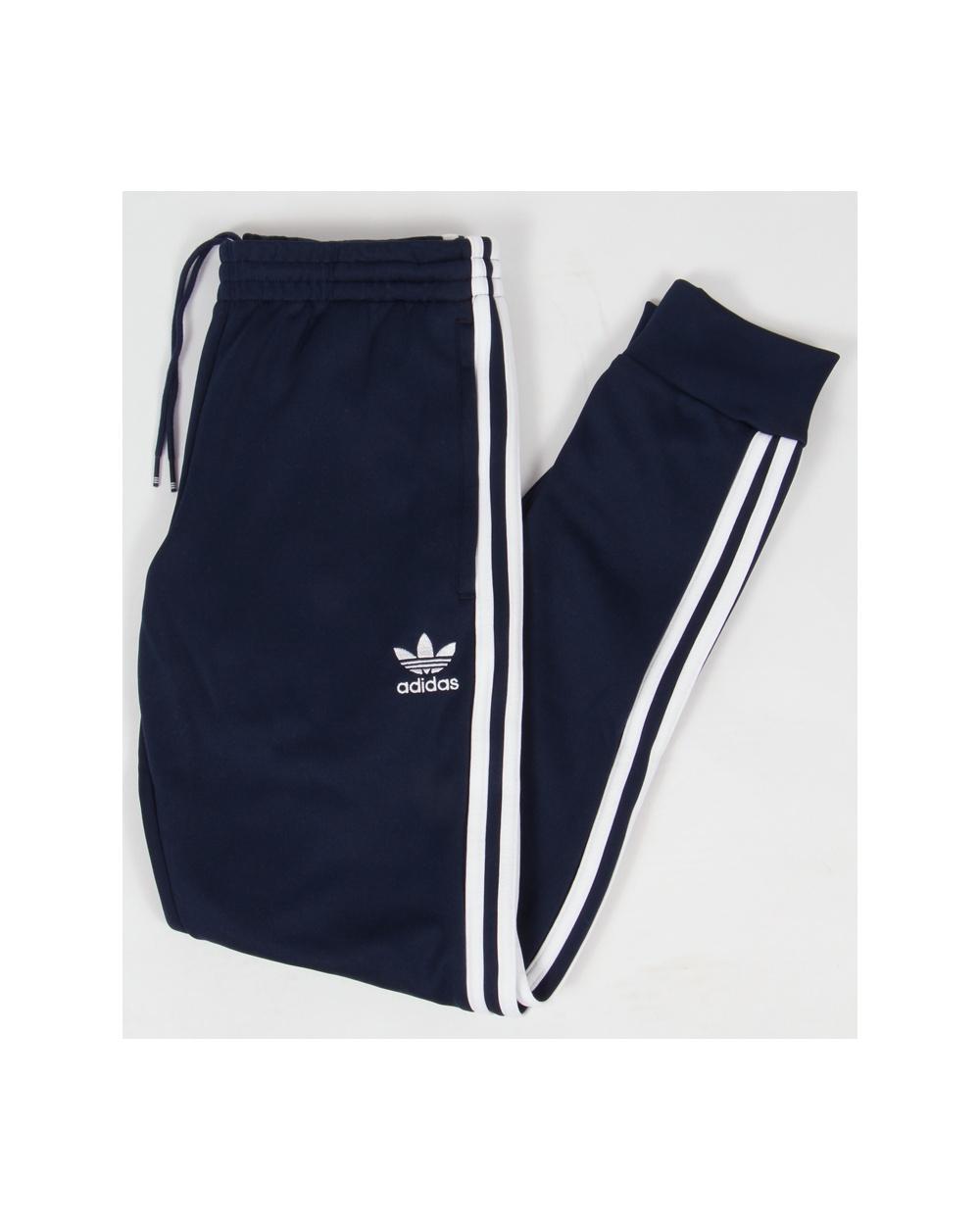 527ac78d8 adidas - Superstar Cuffed Track Pants Black AJ6960; Adidas Originals  Superstar Cuffed Track Bottoms Navy Blue