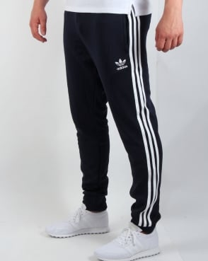 Adidas Originals Superstar Cuffed Track Bottoms Navy Blue