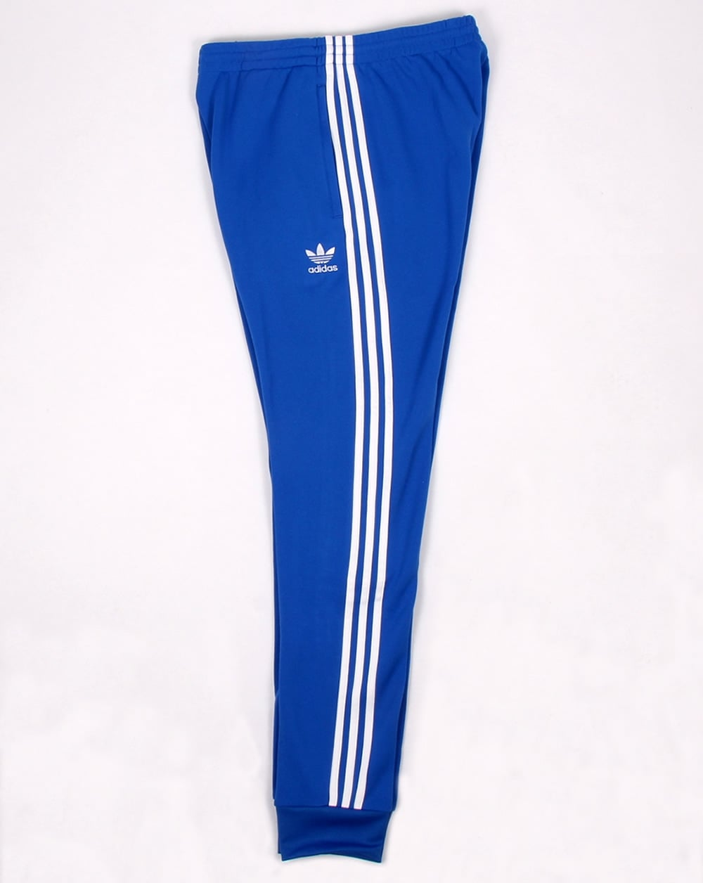 38ce588ead3 Adidas Originals Superstar Cuffed Track Pants Blue