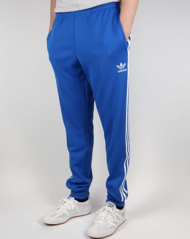 Adidas Originals Superstar Cuffed Track Pants Blue
