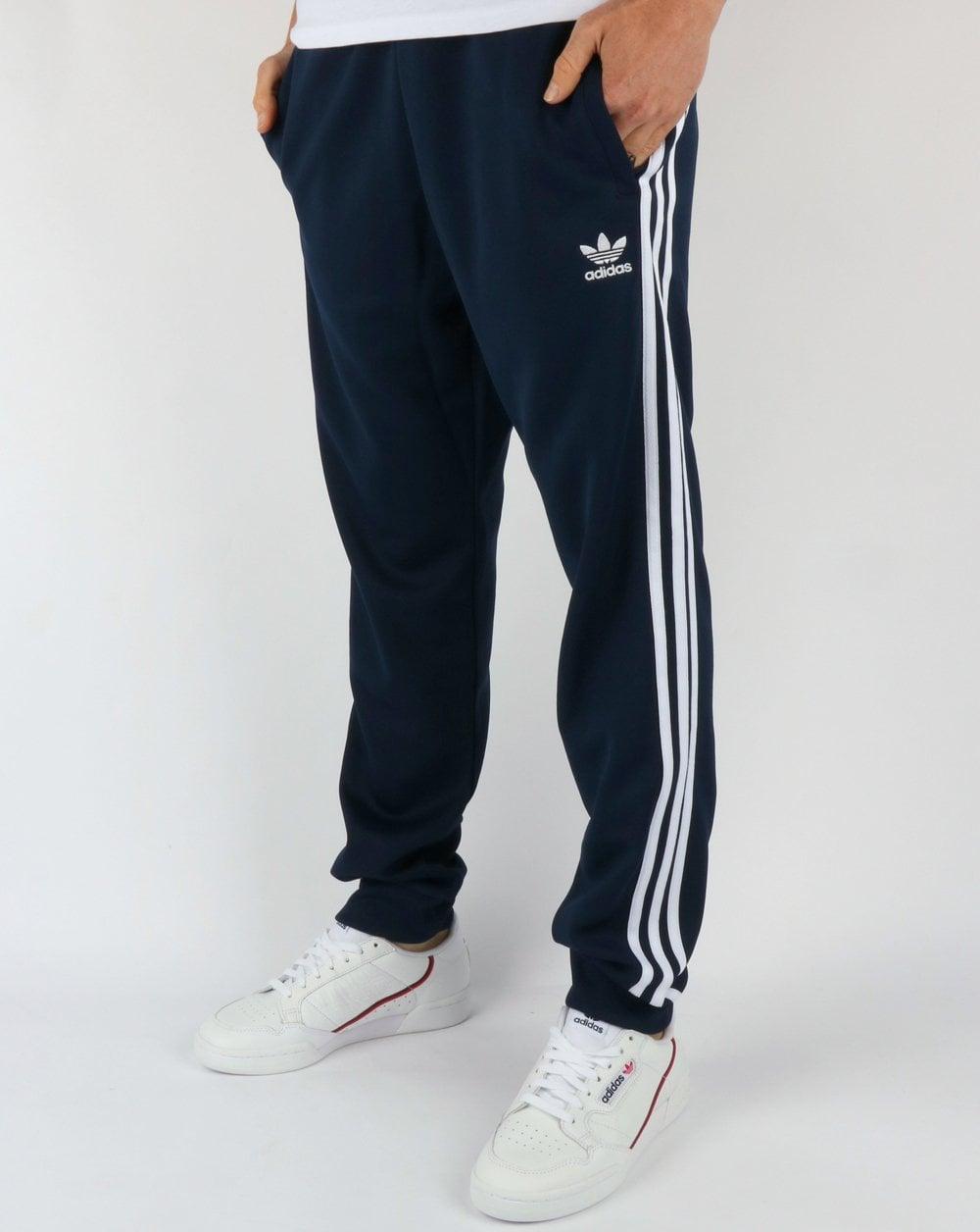9c75ff0a1a4d adidas Originals Adidas Originals Superstar Track Pants Navy White