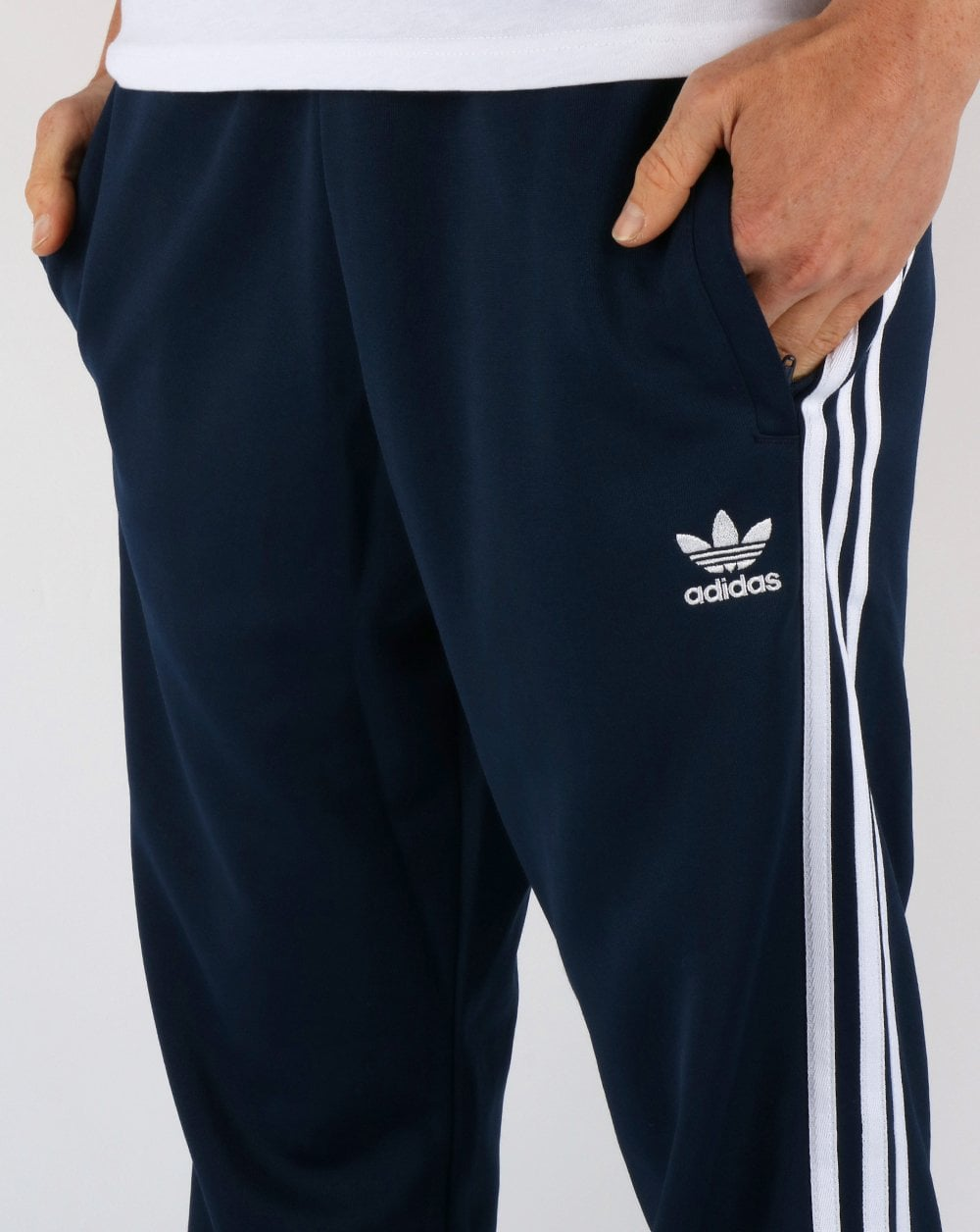 new style b43fc bb107 Adidas Originals Superstar Track Pants Navy/White