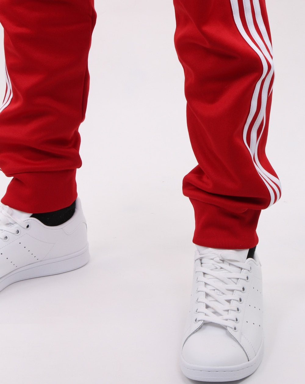 Adidas Originals Superstar Track Pants Power Red Mens Tracksuit