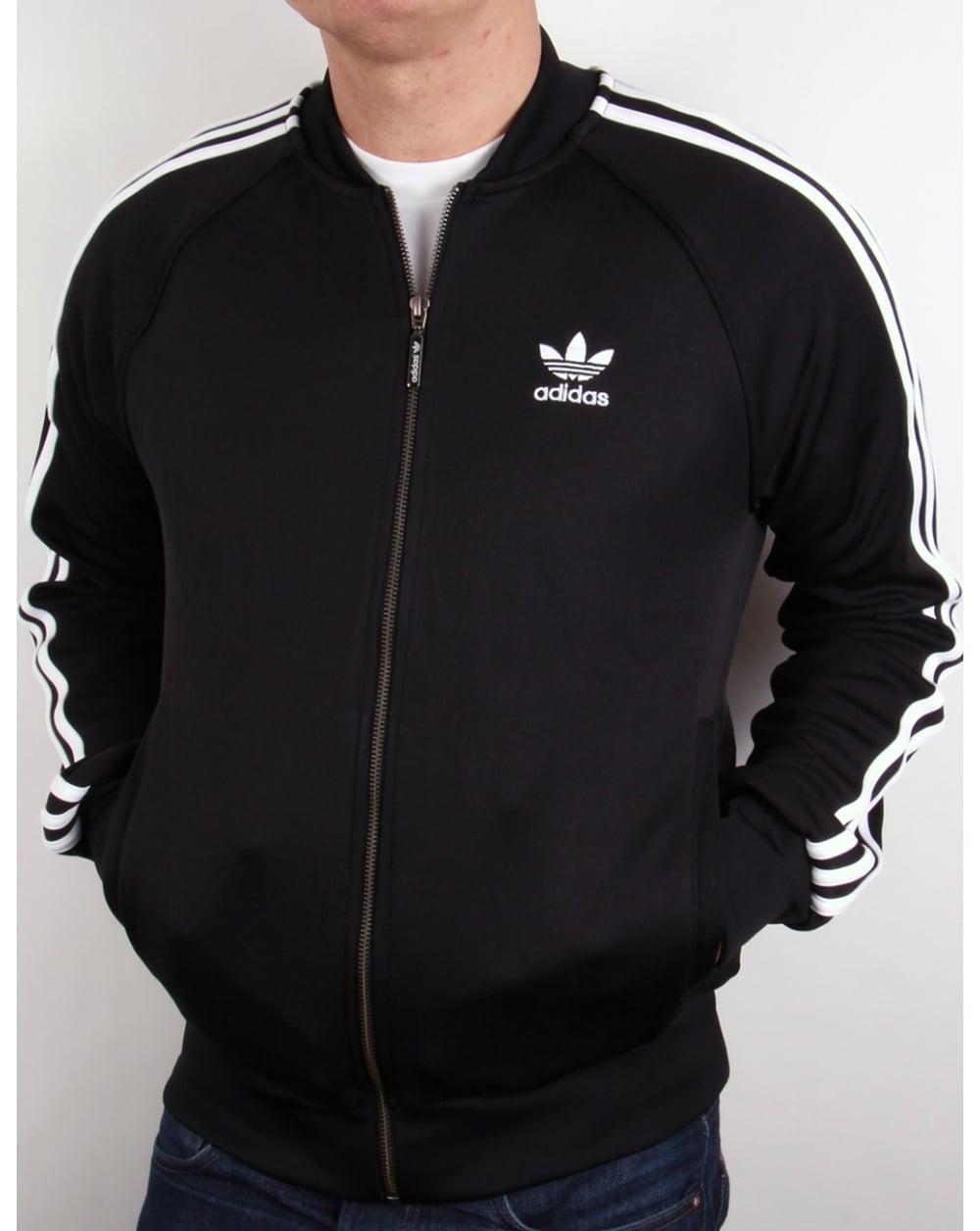 725c6104137f ... where to buy adidas originals superstar track top black white e591e  263bd