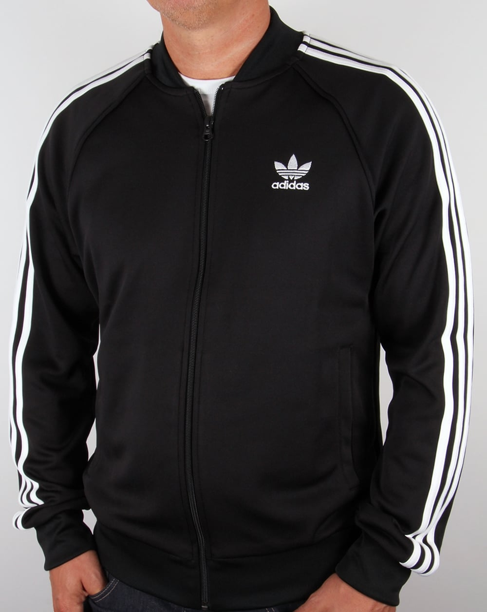 Adidas Originals Superstar Track Top Black/White