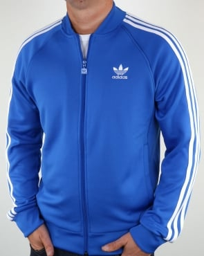 Adidas Originals Superstar Track Top Blue