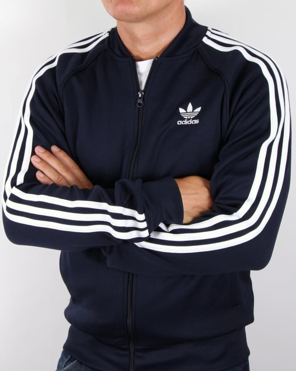 Adidas Originals Superstar Track Top Classic Navy