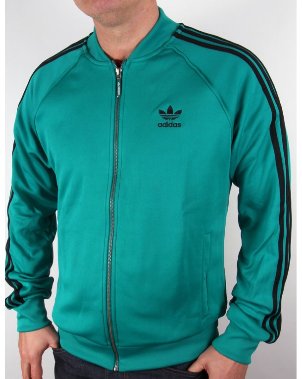 Adidas Originals Superstar Track Top Eqt Green