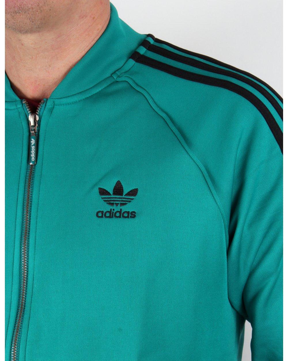 Adidas Originaler Super Jakke Grønn FMIkhsX