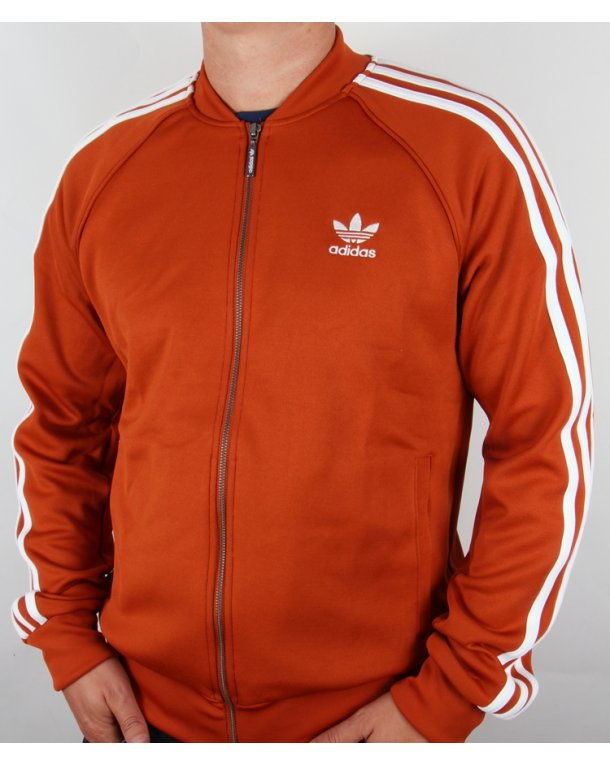 adidas red superstar track top