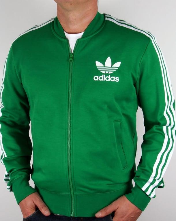 Vert Veste De Survêtement Adidas Superstar bVyOwpSd