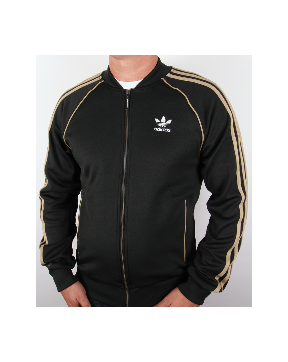adidas originals superstar track top jungle ink adidas. Black Bedroom Furniture Sets. Home Design Ideas