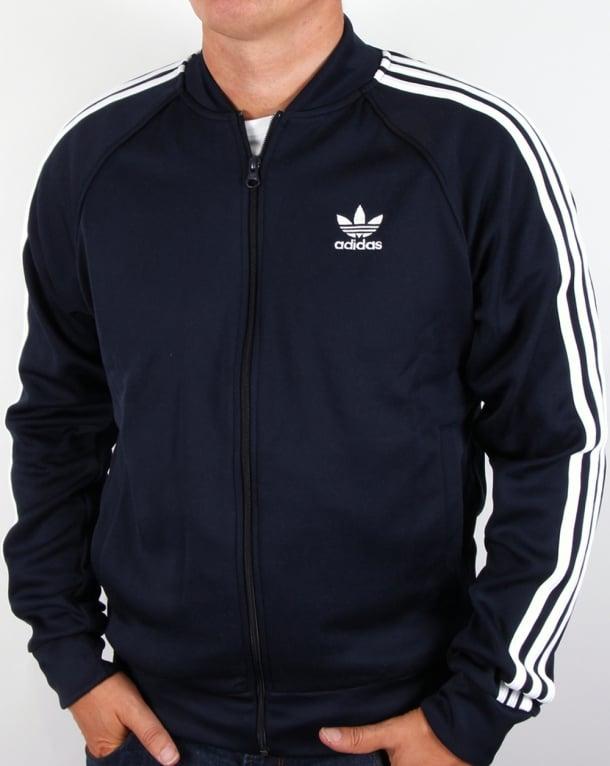 Adidas Originals Superstar Track Top Legend Ink/White