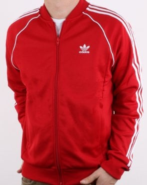 Adidas Originals Superstar Track Top Power Red