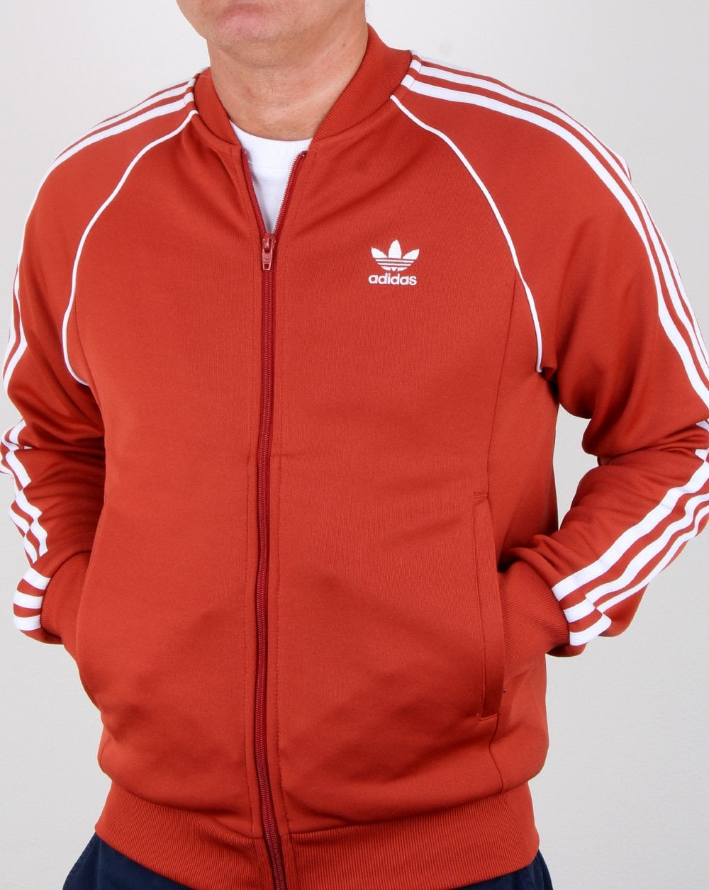 Orange Track Top Superstar Originals Rust Adidas b7gyYf6