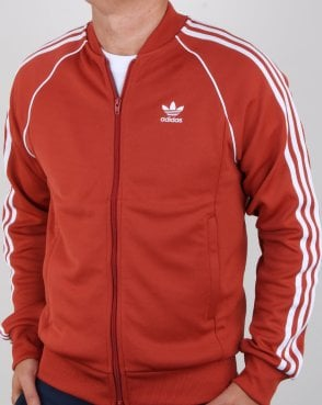 Adidas Originals Superstar Track Top Shift Orange