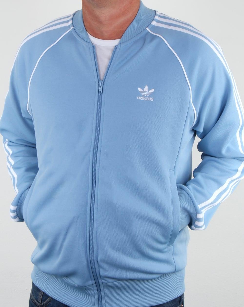 Adidas Originals Superstar Track Top Sky Jacket Tracksuit