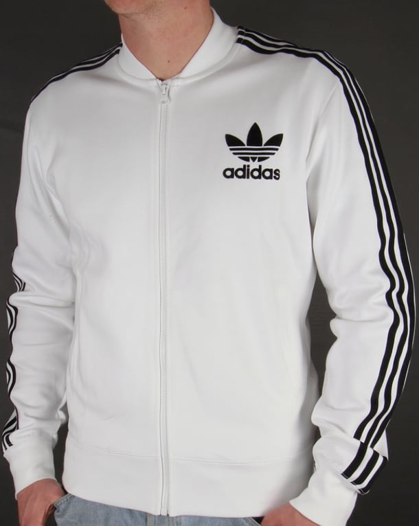 Adidas Originals Superstar Track Top White/Black