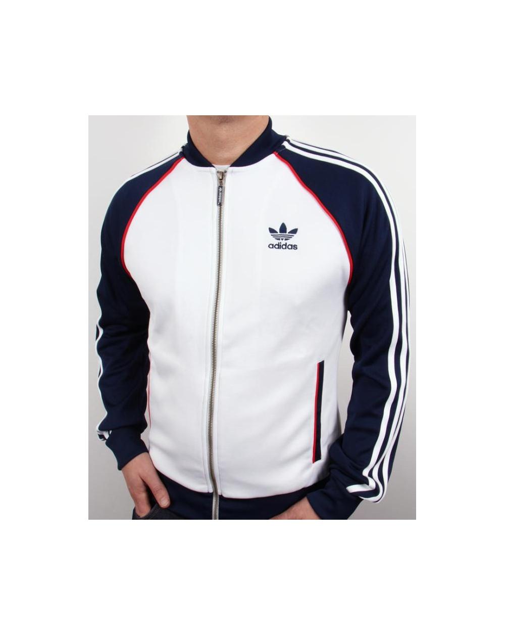 Adidas Originaler Super Spore Jakke Hvit LAkA8L