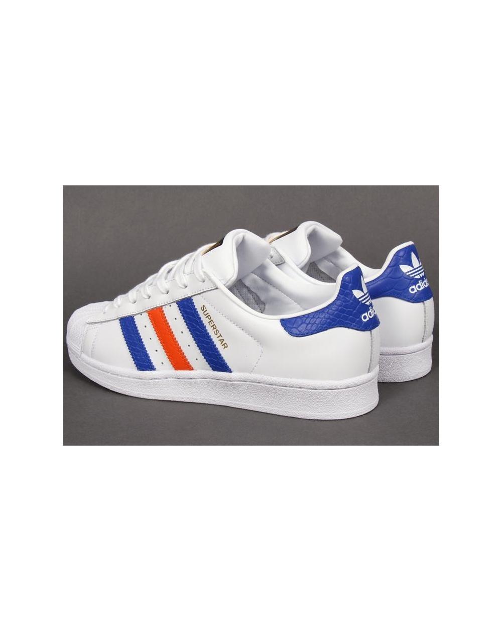 uk availability 4da6d c420a adidas superstar red white blue