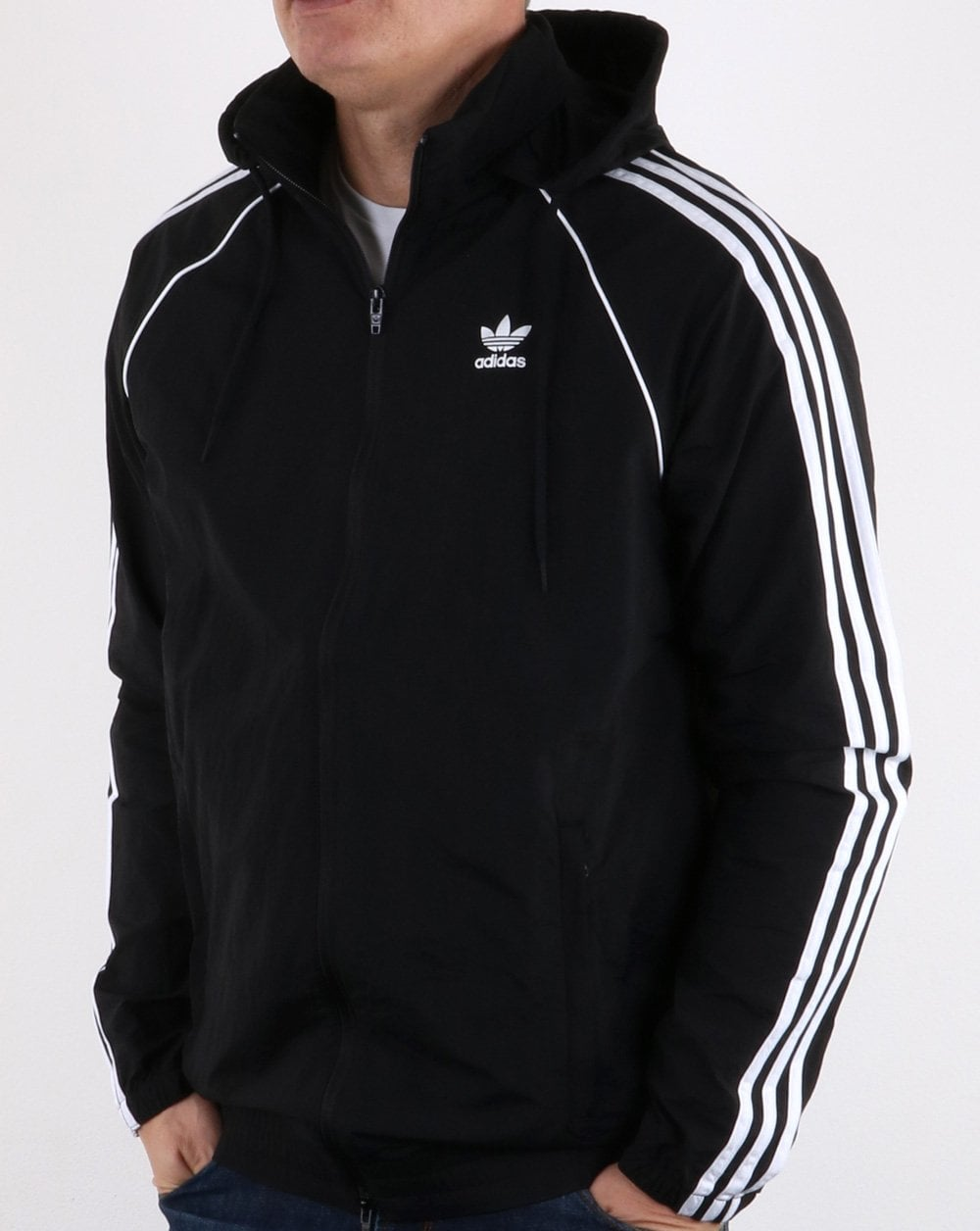 Adidas Originals Superstar Windbreaker Black