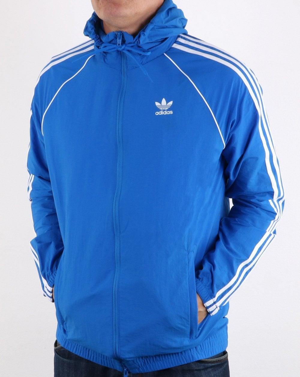 Adidas Originals Superstar Windbreaker Bluebird Blue