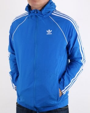 Adidas Originals Superstar Windbreaker Bluebird Blue