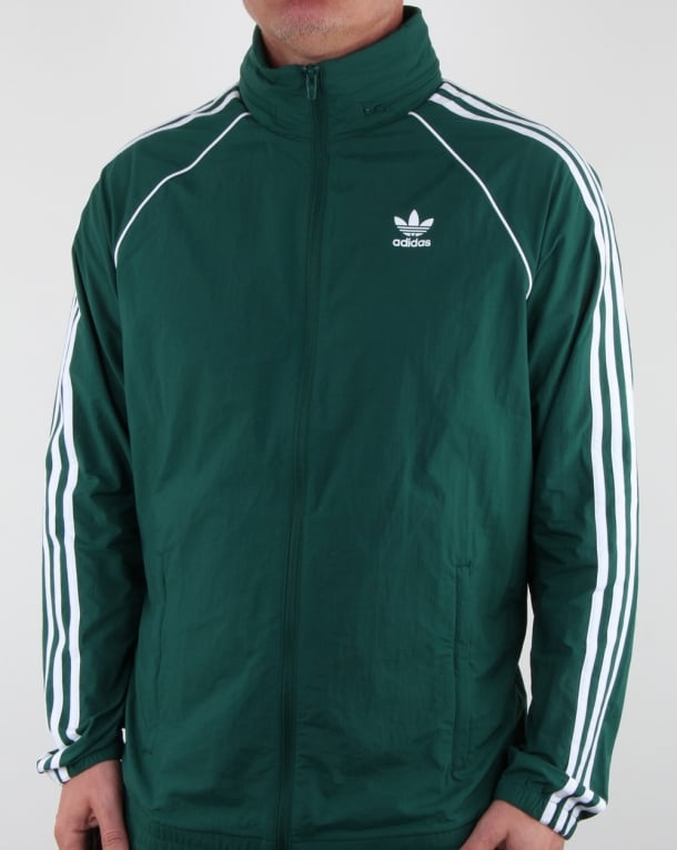 Adidas Originals Superstar Windbreaker Green