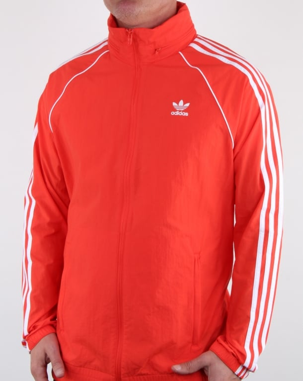 Adidas Originals Superstar Windbreaker Hi Res Red