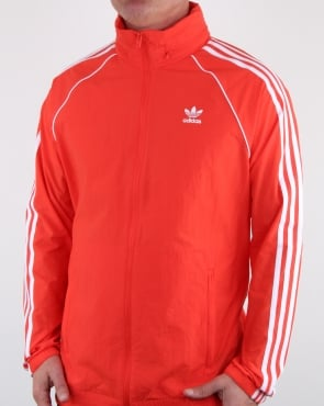 Adidas Originals Superstar Windbreaker Hi Res Red
