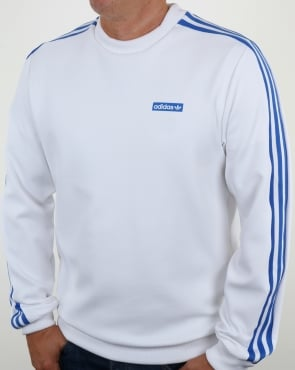 Adidas Originals Tennoji Crew Sweat White/Blue