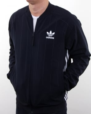 Adidas Originals Tko Denim Superstar Track Top Navy