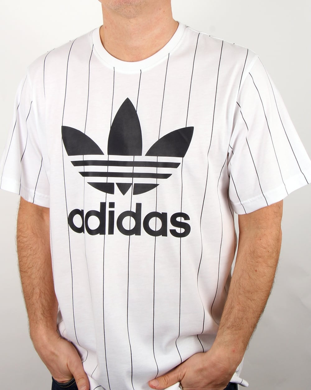 Adidas Originals TKO Pinstripe T Shirt