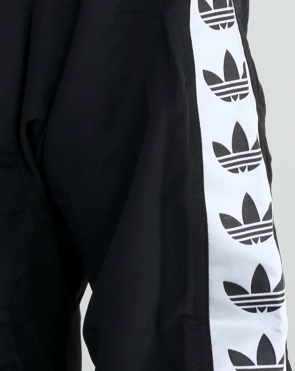 Adidas Tnt Black And White Taped Crewneck Sweatshirt Ficts