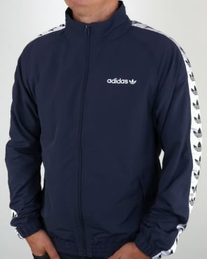 Adidas Originals TNT Tape Wind Jacket Trace Blue/White