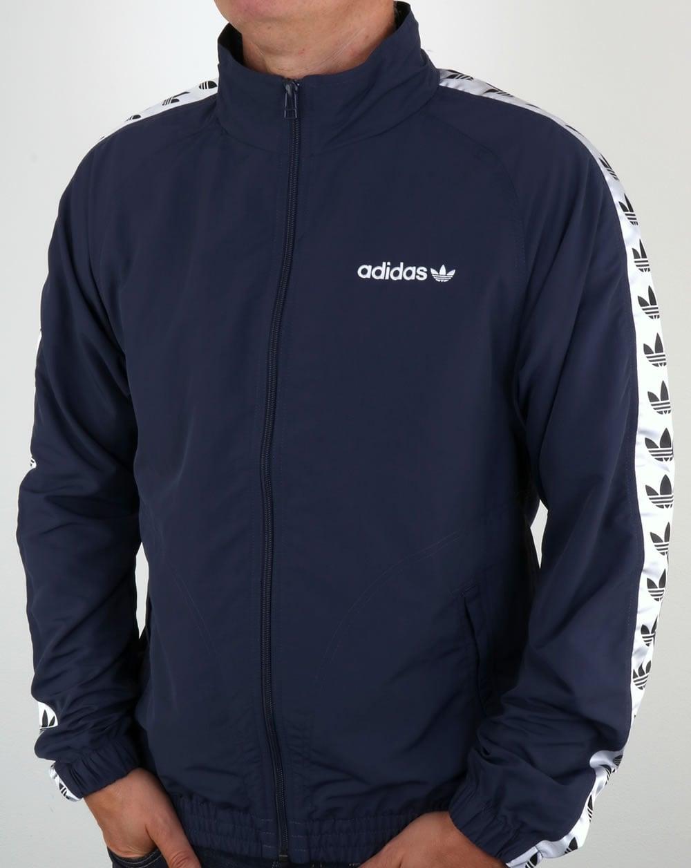 Adidas Originals TNT Tape Wind Jacket Trace BlueWhite