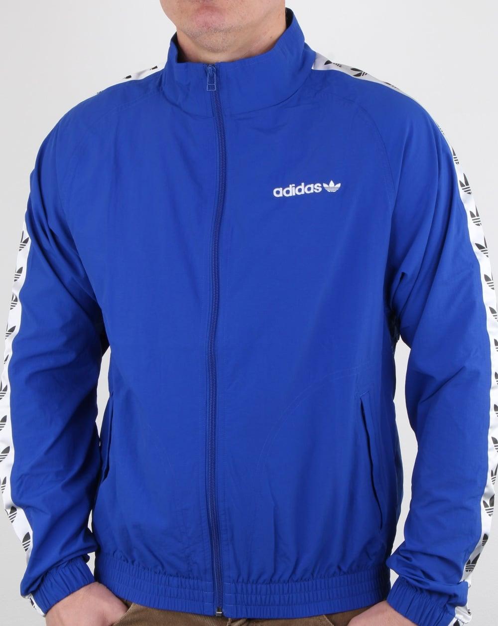 01f2f327de80 adidas Originals Adidas Originals Tnt Wind Track Top Bold Blue