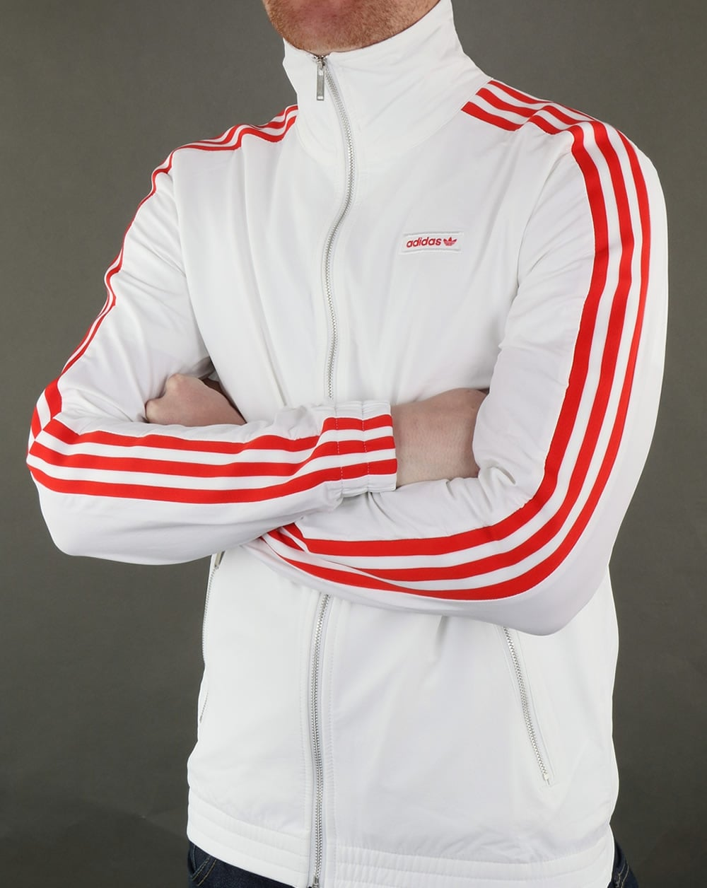 adidas originals mdn track top white men 39 s jacket. Black Bedroom Furniture Sets. Home Design Ideas