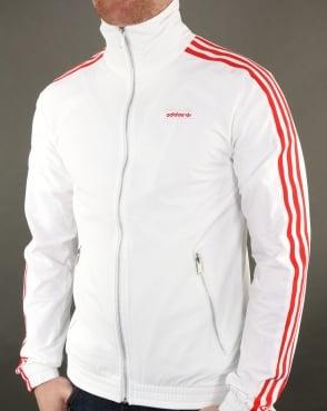 Adidas Originals Track Top White-red