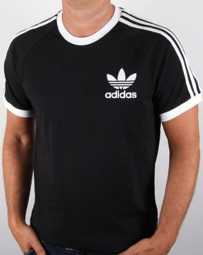 Adidas Originals Trefoil 3 Stripes T-shirt Black