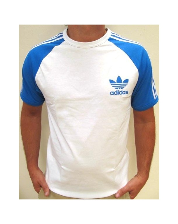 adidas originals trefoil 3 stripes t shirt