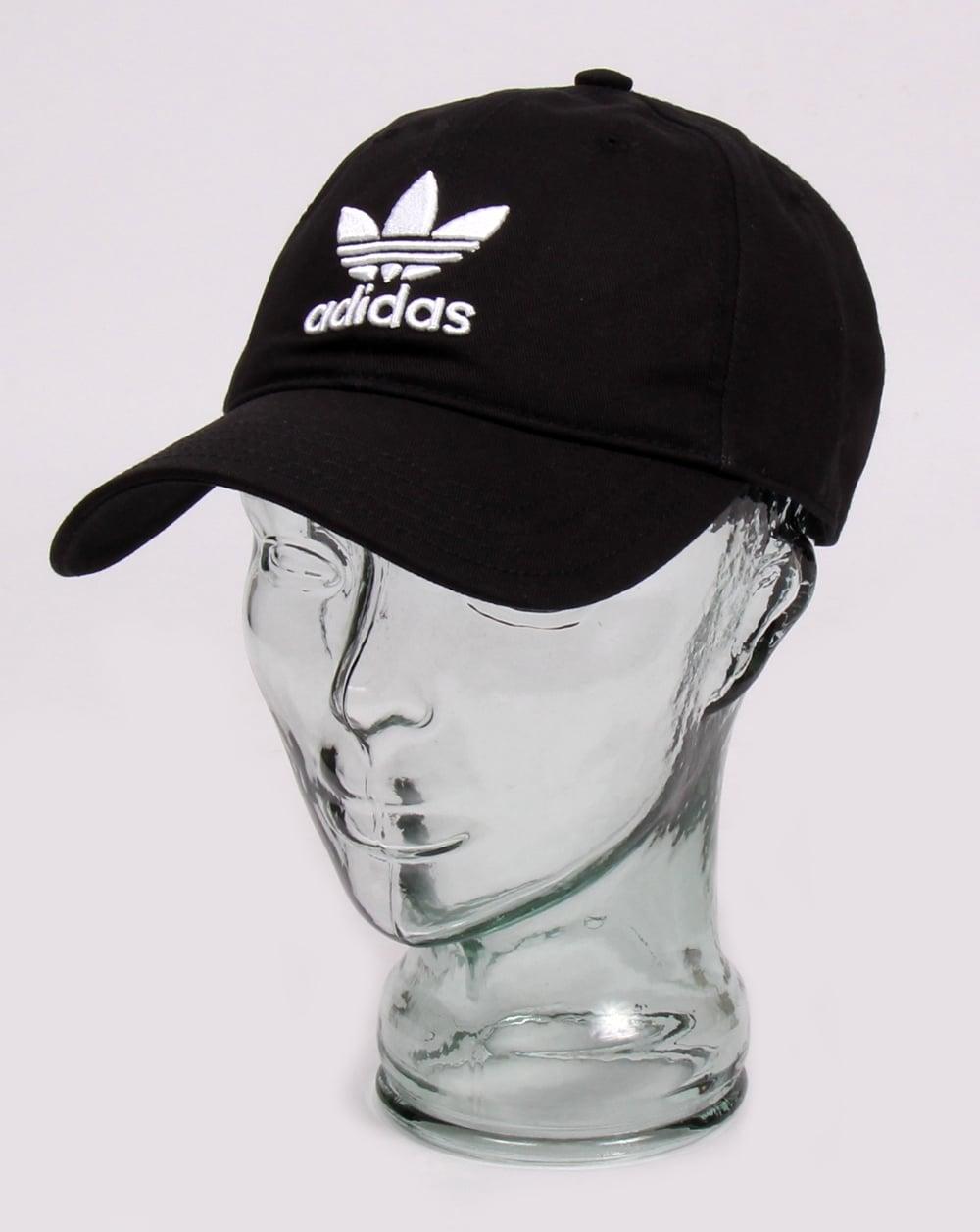 8f603d67b924ca adidas Originals Adidas Originals Trefoil Baseball Cap Black